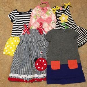 4T summer dress bundle (5 dresses)